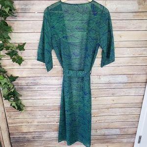 Sweaters - 🆕️ONLY 1 LEFT! Leaf Print Open Chiffon Kimono🆕️